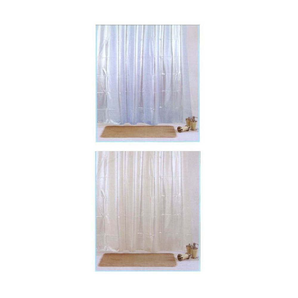 Pvc shower curtain solid color poolee - Pvc shower curtain ...