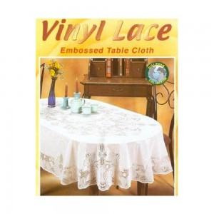 Dolphin-Collection-6700-5472OVAL-Vinyl-Lace-Tablecloth-(Oval)-Size-54x72-Oval-Color-White