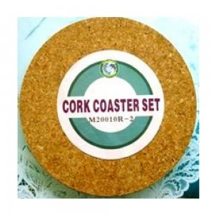Dolphin-Collection-M20010R2-Cork-Coaster-2pc-Round-Size-195mm-dia