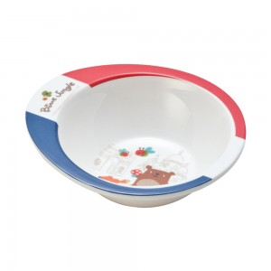 FB12115_Melamine_Bowl_(French_Bear)_Size15x13.5x4.2cm
