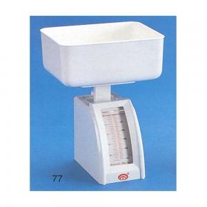No-Brand-77S-Plastic-Diet-Letter-Scale-500g-(White)-Capacity-500g-Colour-White