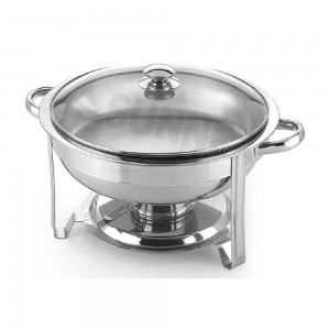 Sunnex-X27581-Stainless-Steel-Round-Chafer-Size-Dia-30cm-Capacity-4.5LTR-4.8U.S.QT