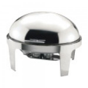 Sunnex-X32821-Stainless-Steel-Roll-top-Chafer-Size-70mm-Deep-Capacity-9.0LTR-9.5U.S.QT