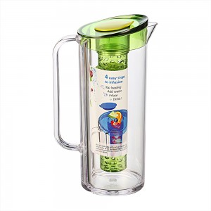 Felli_NEPH02-1_Focus-Infusion-Pitcher-1.8L_Size-17x11.2x27.9cm_Capacity-1.8L_Color-Clear-Body-&-Tude-With-Green-Lid