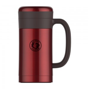 dolphin-hbg450-13r-stainless-steel-vacuum-mug-with-strainer-450ml-red