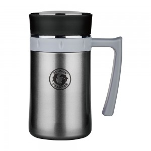 dolphin-hbg450-4gr-stainless-steel--vacuum-mug-with-strainer-450ml-grey