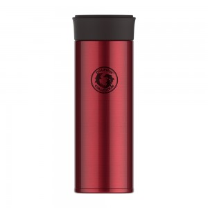dolphin-hd350-28r-stainless-steel-vacuum-flask-with-strainer-350ml-red