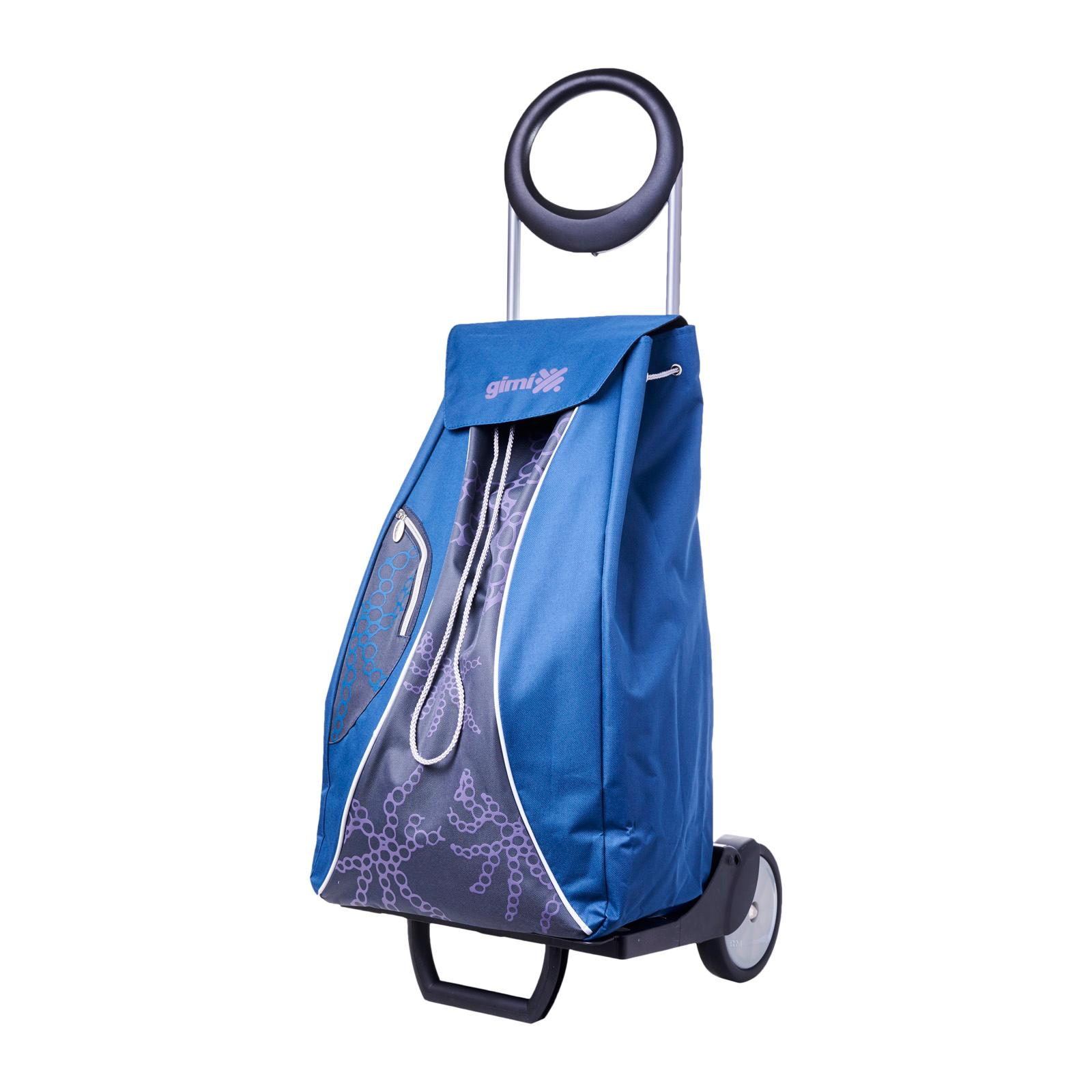 Gimi Shopping Trolley Market Blue Poolee